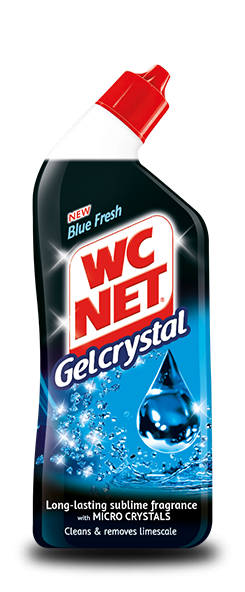 WC NET GelCrystal Blue Fresh